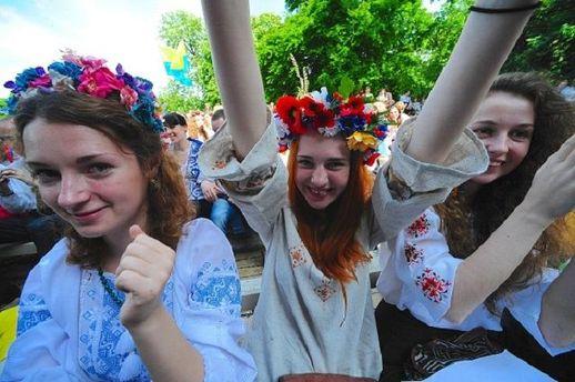 Украинцы любят