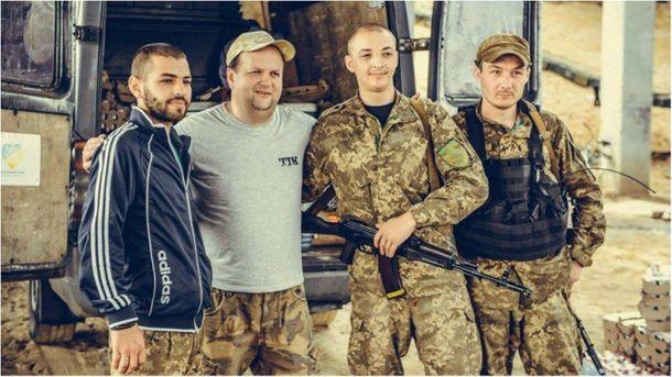 Группа ТИК сняла клип во время поездок на Донбасс