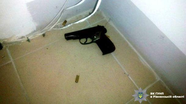 Депутат стріляв із травматичної зброї