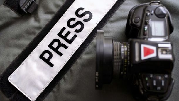 Журналисты на Донбассе