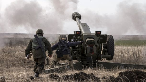 Боевики продолжают бить по украинским позициям (иллюстрация)