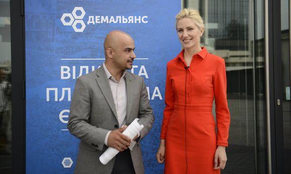 Мустафа Найем и Светлана Залищук