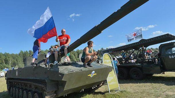 Нашестя танків на музику