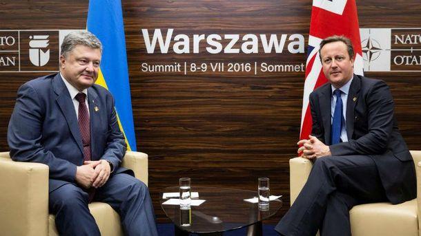 Кемерон пообіцяв ще більшу допомогу Україні