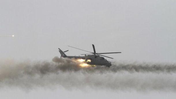 ИГ сбили сирийский вертолет с российскими военными