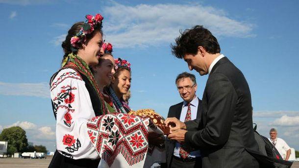 Трюдо осуществляет исторический визит в Украину