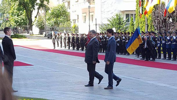 Петро Порошенко та Джастін Трюдо
