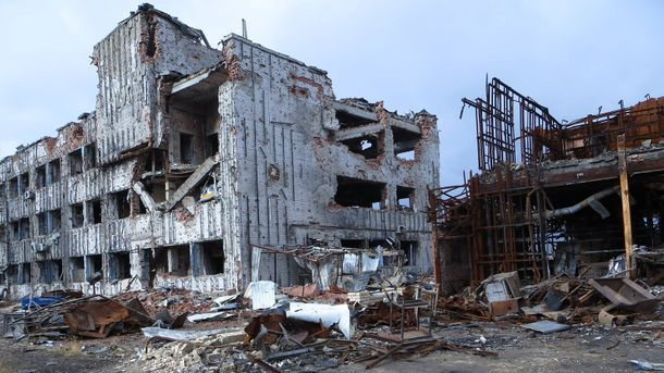 Руины Донецкого аэропорта