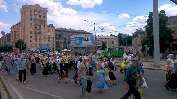 Крестный ход Московского патриархата