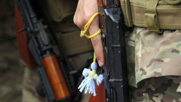 Четверо украинских бойцов были ранены