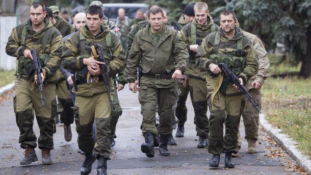 Захарченко с охранниками
