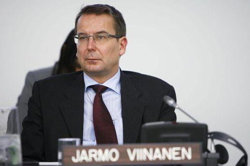 Посол Финляндии в Швеции Ярмо Виинанен