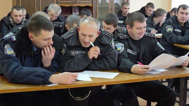 4 тысячи милиционеров не сумели пройти переаттестацию