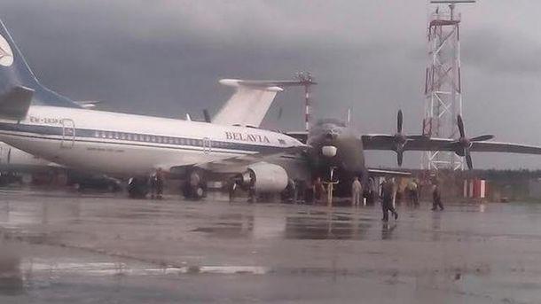 Два літаки зіткнулися у аеропорті в Мінську