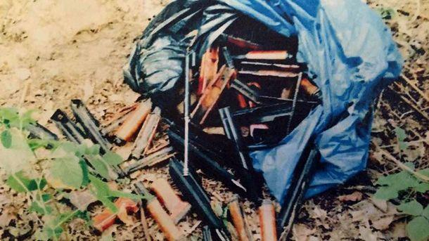 Зброя, з якої вбивали людей на Майдані