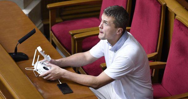 Ігор Луценко з дроном