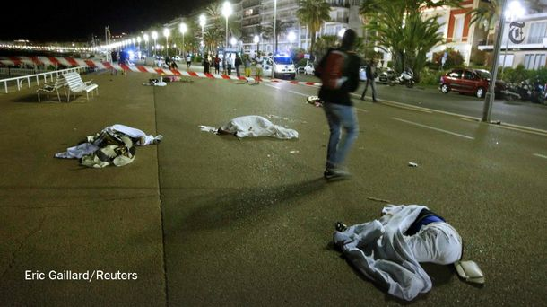 Жертвы теракта  в Ницце