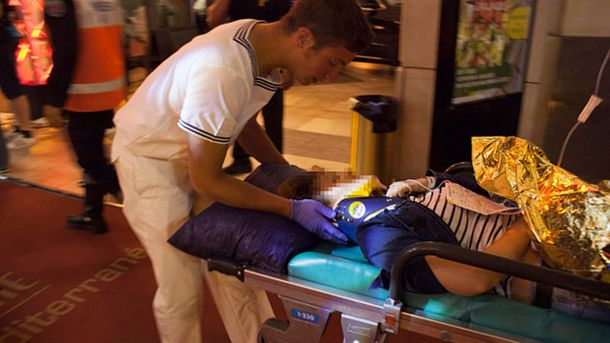 Ранен в результате теракта в Ницце