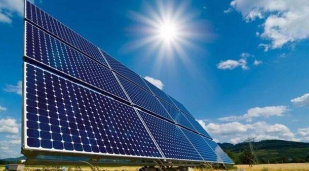 Панелі сонячної електростанції