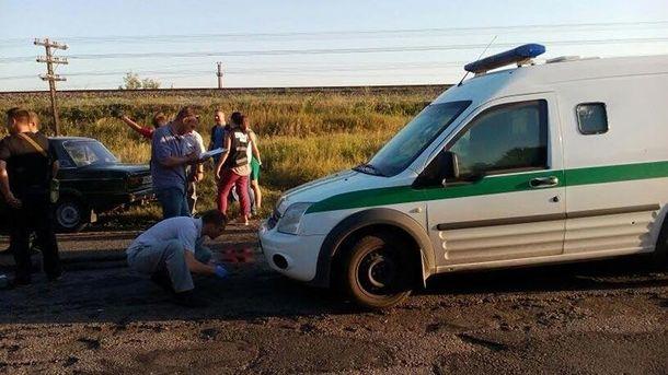 Машину інкасаторів обстріляли на Запоріжжі