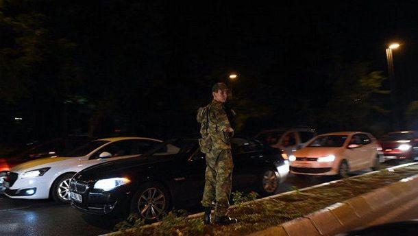 Военные на улицах Анкары