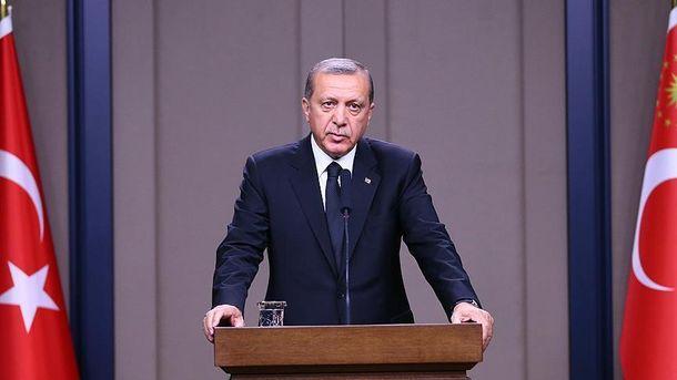Президент Туреччини Реджеп Тайіп Ердоган