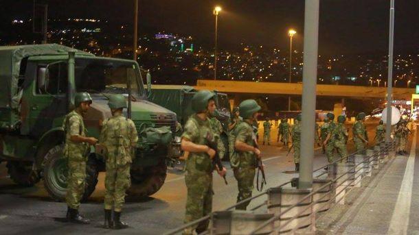 Ситуация в Турции является напряженной