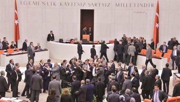 Здание турецкого парламента
