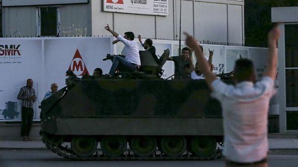 Переворот у Туреччині не вдався