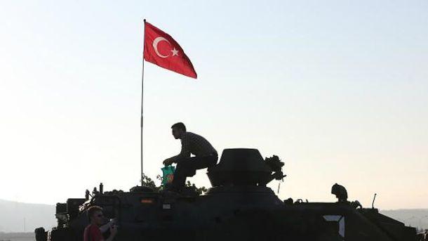 Спроба військового перевороту в Туреччині