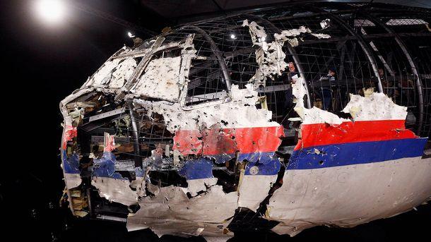 Обломки сбитого над Донбассом Boeing-777