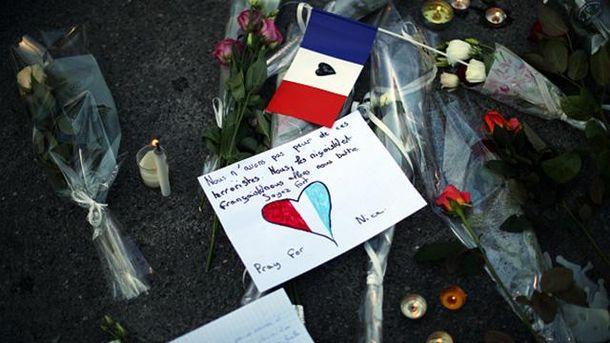 Памяти жертв теракта в Ницце