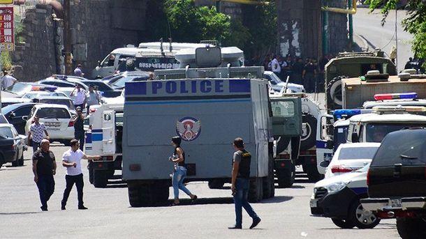 Спецоперация в Армении