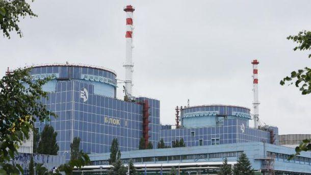 Первый энергоблок Хмельницкой АЭС