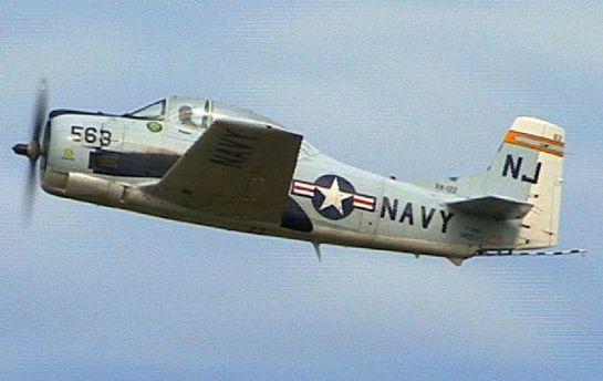 Самолет Т-28 Trojan