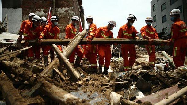 В городе Фучжоу без вести пропали 19 человек
