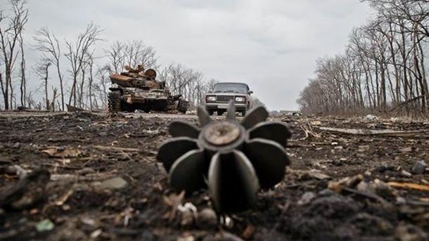 Пророссийские войска используют запрещенное Минскими договоренностями оружие