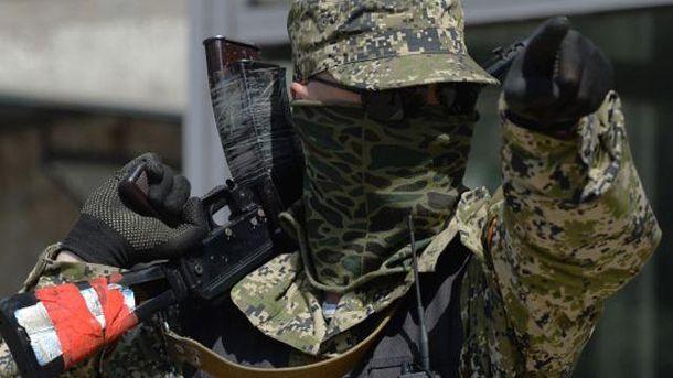 Бойовики розігнали мітинг мирних мешканців