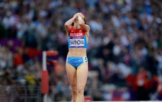 Російська спортсменка