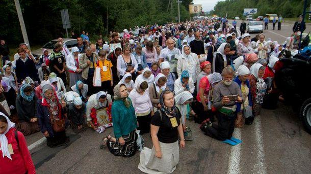 Ход Московского патриархата возле Житомира