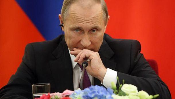 Володимир Путін стурбований