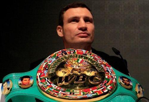 Виталий Кличко одержал 45 побед на профессиональном ринге