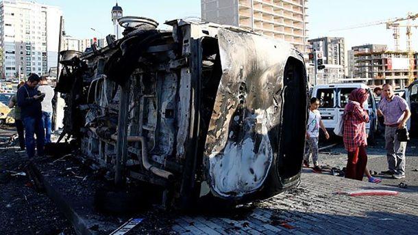 Наслідки спроби перевороту в Туреччині