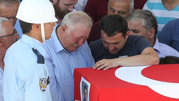 Похороны погибших после попытки переворота