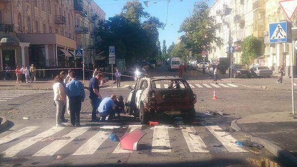 В Киеве от взрыва в машине погиб Павел Шеремет