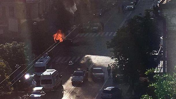 Взрыв машины Павла Шеремета