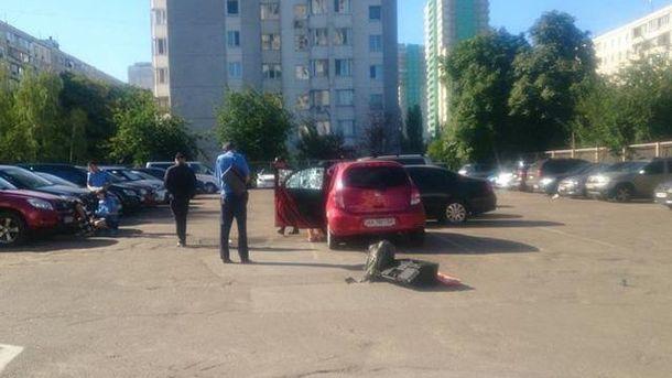 Граната РГД-5 взорвалась на автостоянке в Киеве
