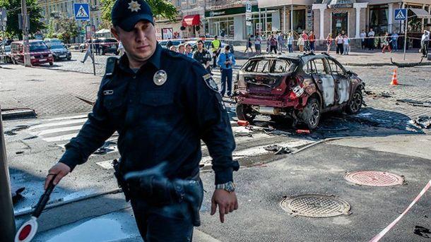 Взрывчатка была заложена близко к месту водителя