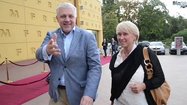 Павел Шеремет и Елена Притула