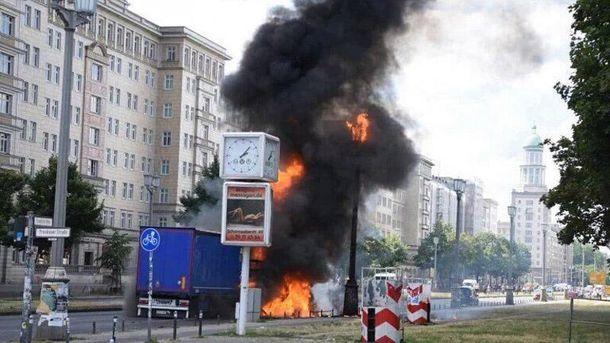 Взрыв в Берлине